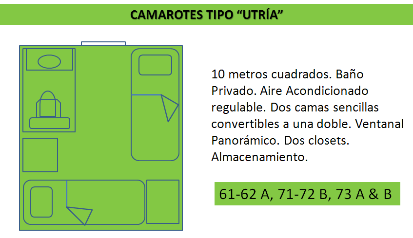 descripcion cabina tipo utria