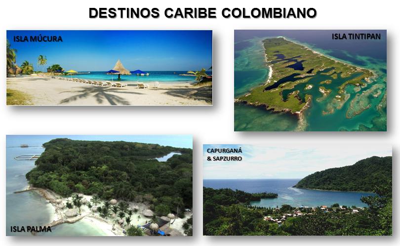 destinos crucero caribe colombiano