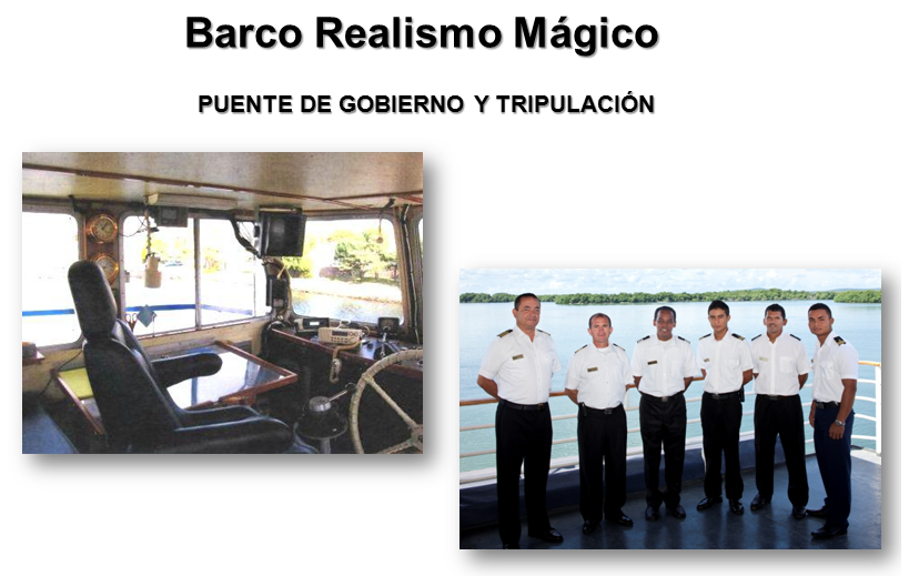 tripulacion crucero realismo magico