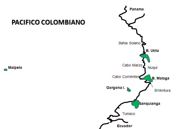ruta crucero pacifico colombiano