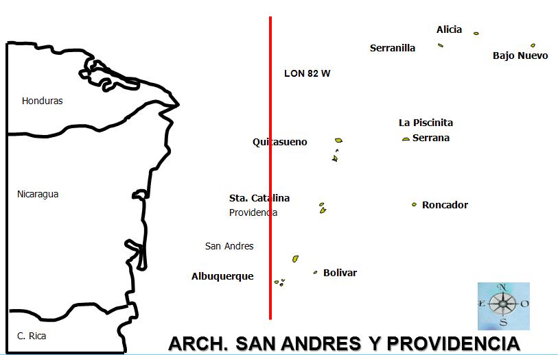 ruta crucero san andres y providencia
