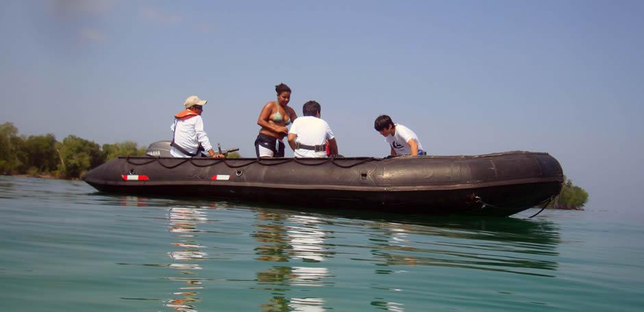 crucero aventura pesca deportiva