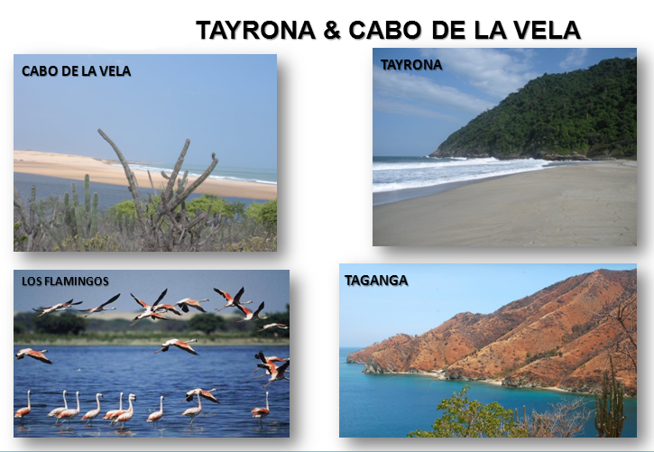 tayrona and cabo de la vela cruises destinations